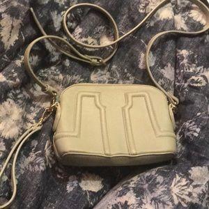 Sage green handbag purse crossbody wristlet retro